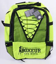 BOXEUR DES RUES Rucksack Sportrucksack Fluo Gelb/Schwarz 50 x 42 x 5 cm