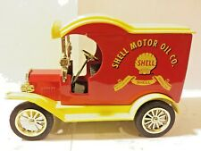 Gearbox 1912 Ford Shell Motor Oil 1:25 Scale Tanker Truck Bank Toy