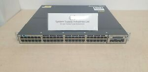 CISCO CATALYST 3750X - WS-C3750X-48T-S - 48 Ports - C3KX-NM-10G + Stack cable