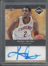 KYRIE IRVING 2011-12 LIMITED CAVALIERS ON CARD ROOKIE AUTO RC #1
