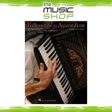 New Folksongs for Accordion Music Book - 30 Accordion Songs