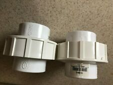 """New listing 2-kbi 1.5"""" to 1.5"""" Union Coupler Schedule 80 Pvc Slip To Slip New."""