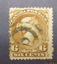 CAN2 Canada stamp Scott 27a, F-VF used, Cat. $140.00