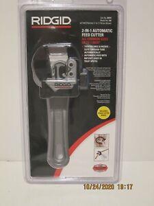 Ridgid 32573 2-in-1 Close Quarters Pipe Tube Cutter Copper Aluminum NISP F-PRSHP
