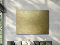 """60""""x48"""" ORIGINAL GOLD PAINTING, Minimalist Art, Abstract Painting in Gold/Bronze"""