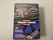 Master Boxing Trainer Secrets - 5 Dvd Set - New