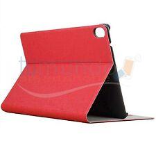 FUNDA SOPORTE de PIEL ROJA para HTC GOOGLE NEXUS 9 case STAND