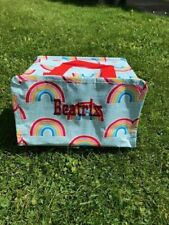 Personalised Sass & Belle Chasing Rainbows Insulated Lunch Bag
