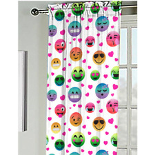 Emoji Pals Kids Bedroom Curtain Panel