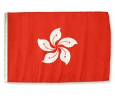 "12x18 12""x18"" Hong Kong Sleeve Flag Boat Car Garden"