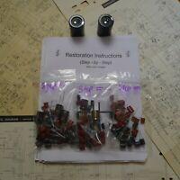 Marantz 2220 2220B receiver rebuild restoration recap service kit fix repair