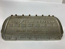 Original 1930's Good Year Zeppelin Duralumin Airship Dock Still Bank Collectible