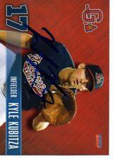 Kyle Kubitza 2017 Gwinnett Braves Signed Card