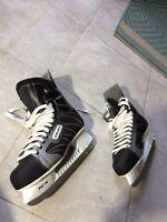 Excellent! Bauer Supreme  Professional, Tuuk Fasteel, Skate Size 12 R Hockey