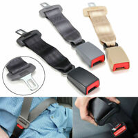 Universal Car Seat Seatbelt Safety Belt Extender Extension 2.1cm Buckle 23cm/9''