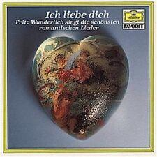 Fritz Wunderlich Ich liebe dich-Die schönsten romantische Lieder (1966, D.. [CD]