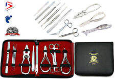 Podiatrist Toenail Clippers Chiropody Podiatry Manicure 11Pc Set Hand & FootCare