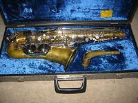"Nice old East- German Alto saxophone  ""Luxor"" w. Yamaha mouthpiece"