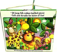 Ceaco Kids The Fuzzy Puzzle Jungle Animals 24 Pieces Kid's Puzzle New Open Box