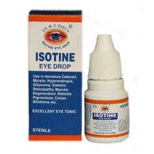 2 Isotine Eye Drop Retinopathy Cataract Glaucoma Hypermetropia Blindness Myopia
