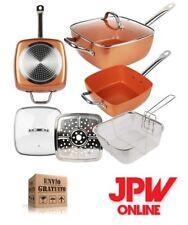 JPWonline-Sartén Copper cuadrada revestimiento cerámica cobre accesorios freir
