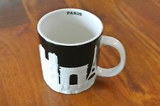 Brand New Starbucks Coffee Mug Relief City Collector Series PARIS France 16 oz.