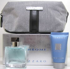 AZZARO Chrome 30 ml EDT & 50 ml All over Shampoo & Bag
