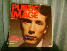 SEALED PUNK LP~PUBLIC IMAGE~FIRST ISSUE 1978 VIRGIN UK~SEX PISTOLS/JOHNNY ROTTEN