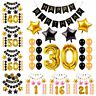 1/16/21/30/40/50/60th Happy Birthday Foil Balloon Garland Baby Shower Party DIY