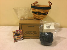 Longaberger Collectors Club CC 1999 Renewal Basket, Protector, & Liner - NEW
