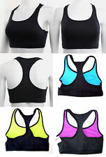 New Balance Sports Bra Women's Black Yoga Training Athletic Bra CLEARANCE SALE
