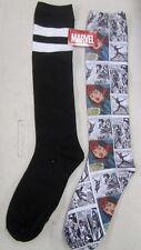 Spider-Man Mary Jane Woman Ladies' Socks 2 PAIRS Knee High Socks Marvel 9 - 11