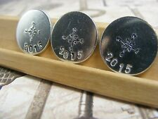 Geocache Collectible Numbered Coin Tokens Handstamped Qty 3