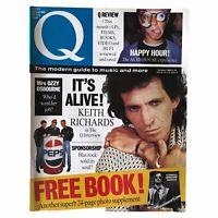 Q Magazine Keith Richards Rolling Stones Acid House Bros The Osbourne's 1988 Oct