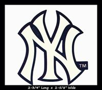 NEW YORK YANKEES BASEBALL MLB INDOOR DECAL STICKER TEAM LOGO~BUY 1 GET 1 30% OFF