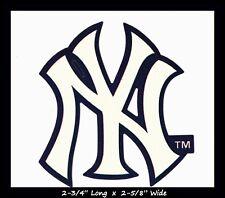 NEW YORK YANKEES BASEBALL MLB INDOOR DECAL STICKER TEAM LOGO~BUY 1 GET 1 30% OFF