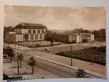 alte Foto Ansichtskarte Essen Saalbau  um  1957 VW Käfer