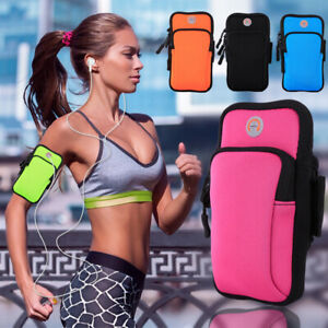 Portable Unisex Training Case Zipper Arm Bag Cell Phone Holder Gym Bodybuilding
