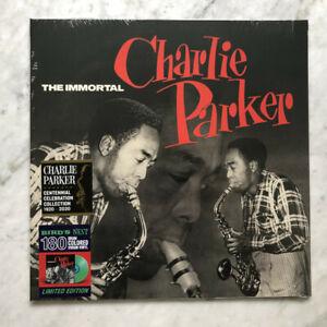 Charlie Parker The Immortal Vinile Lp Colorato Nuovo Sigillato