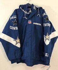 70f7ddffc Vintage DALLAS COWBOYS Starter Jacket by Pro Line Men XLarge 3 Peat Dynasty