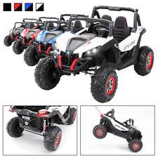 Kinder Elektroauto UTV Buggy MX Allrad 4x4 Kinderfahrzeug schwarz