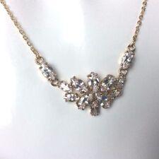 Marquise Diamond Costume Necklaces & Pendants