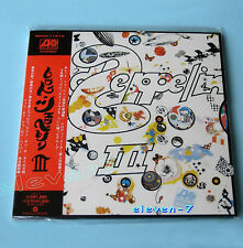 LED Zeppelin III JAPAN MINI LP CD WPCR - 11613 gimmick COVER NEW & STILL SEALED