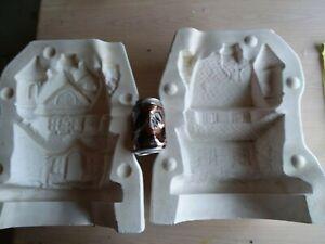 "Holland H2153... 14"" Haunted House Slip Casting Ceramic Molds 920 Halloween"