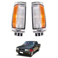 87-96 Mitsubishi L200 Dodge Ram 50 Clot Mighty Max Strada Corner Lamp Light Pair