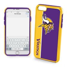 Official NFL Dual ShockProof Cover Case for Apple iPhone - Minnesota Vikings