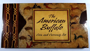 2001-D The American Buffalo Coin and Currency Set Commemorative Silver Dollar