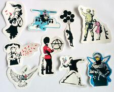Banksy Sticker Set Vinyl Decal Pack Car Bike Street Art Graffiti Balloons Girl