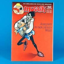 Mosaico Abrafaxe 263 | novembre 1997 | DDR DA COLLEZIONE d1 | arrivo nel Nuovo Mondo