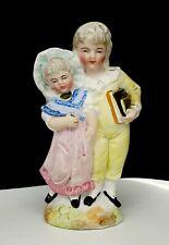Antique German Bisque Porcelain Figurine